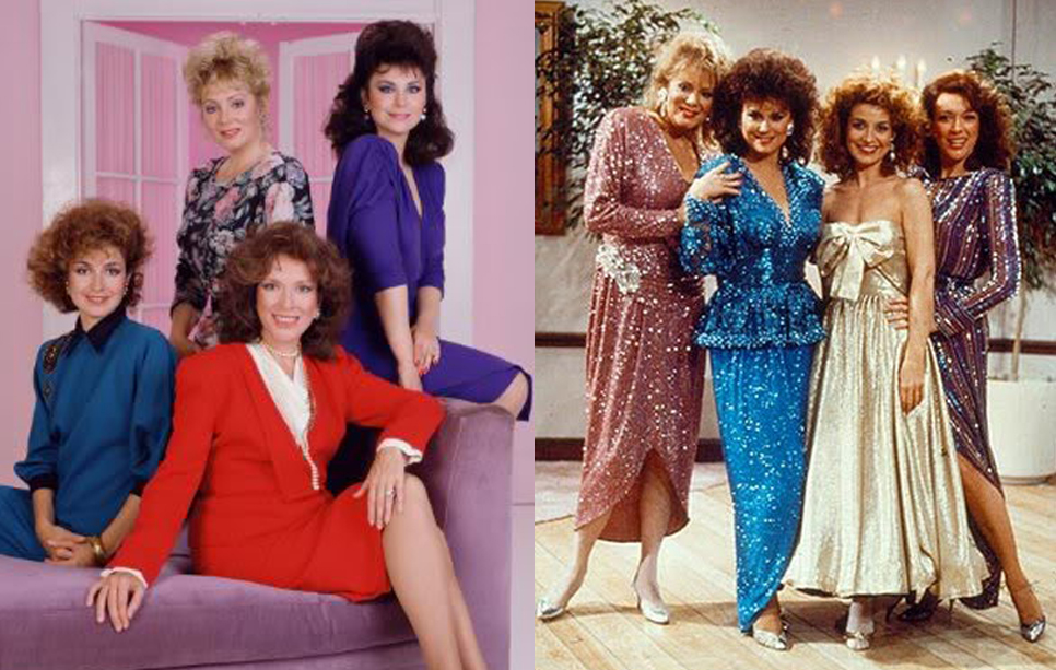 80 39 s fashion inspired vintage skirt set for What does delta burke look like now