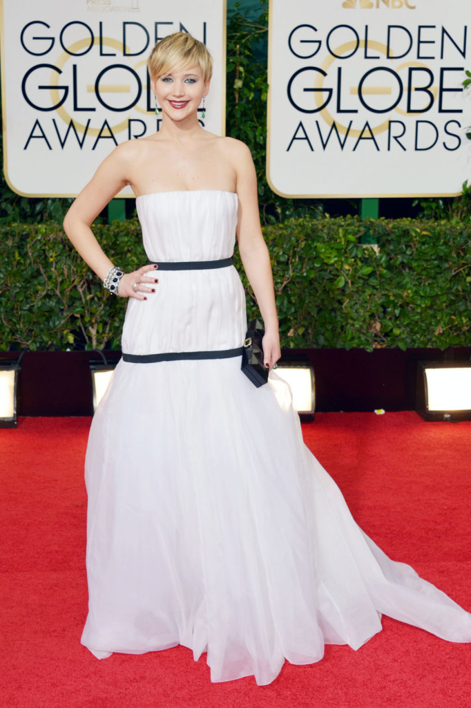 Jennifer Lawrence, Golden Globes