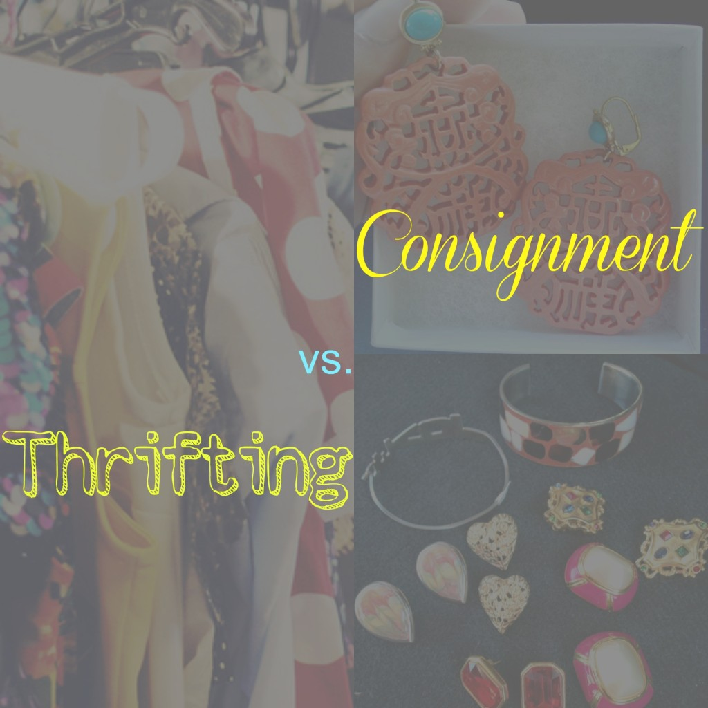 Consignment vs. Thrifting