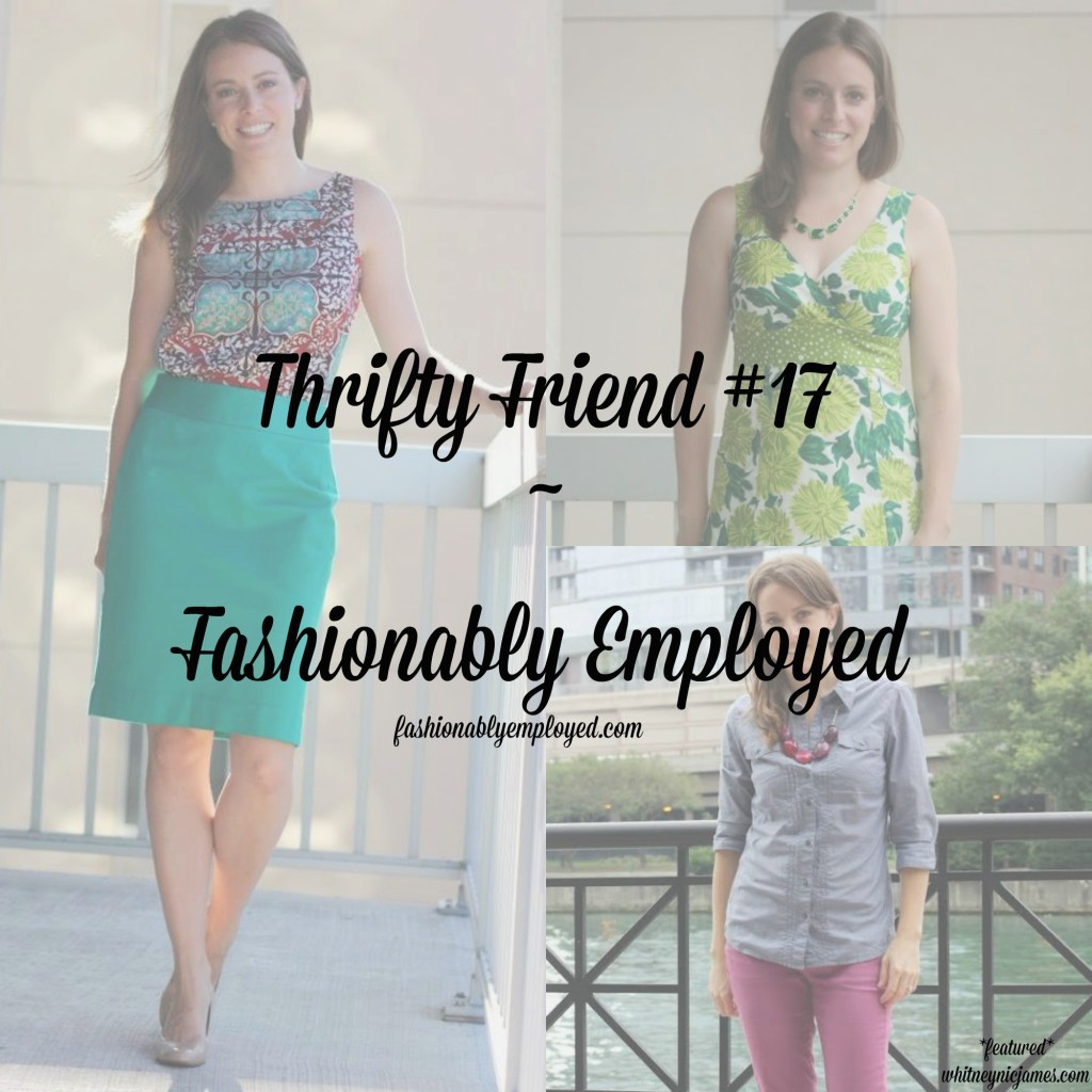 Fashionably Employed - thrift feature
