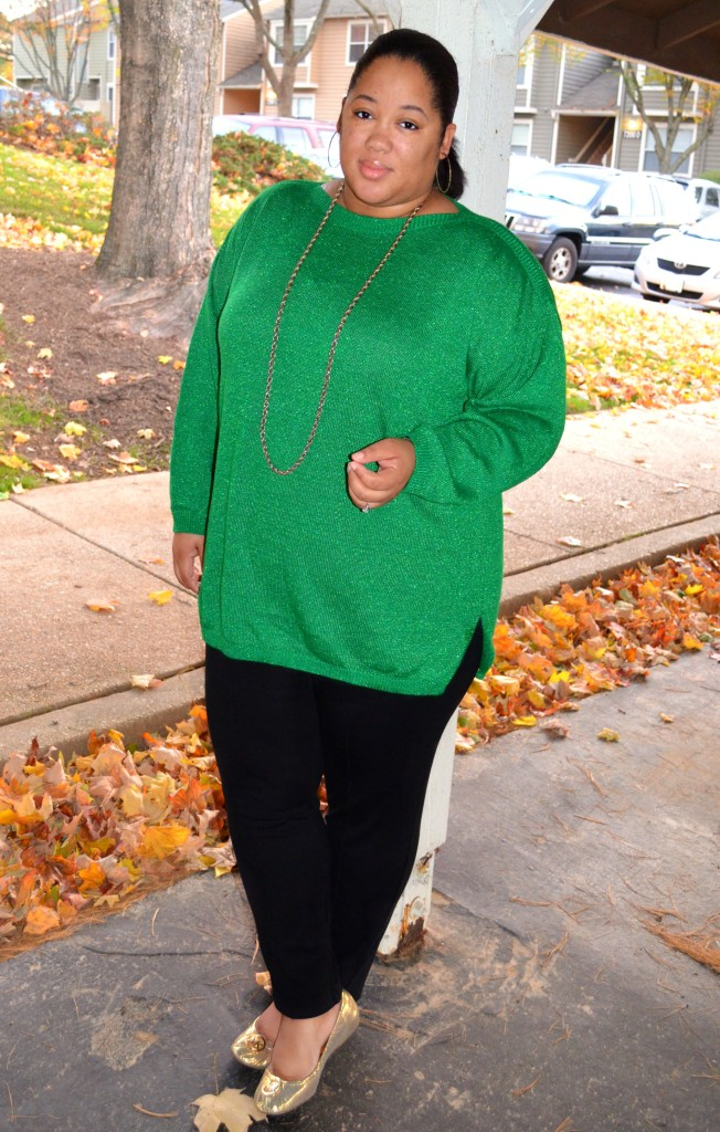 Plus Size Fall Sweater