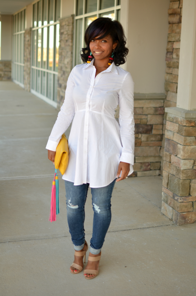 Sweenee Style - White Button Up