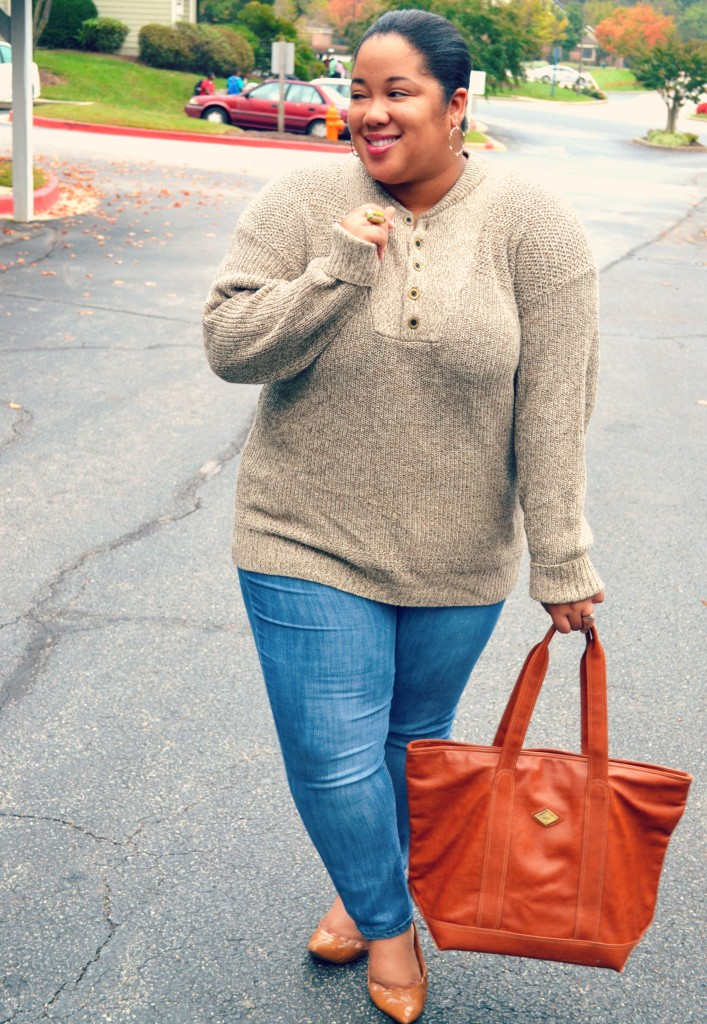 plus size blogger - sweater season
