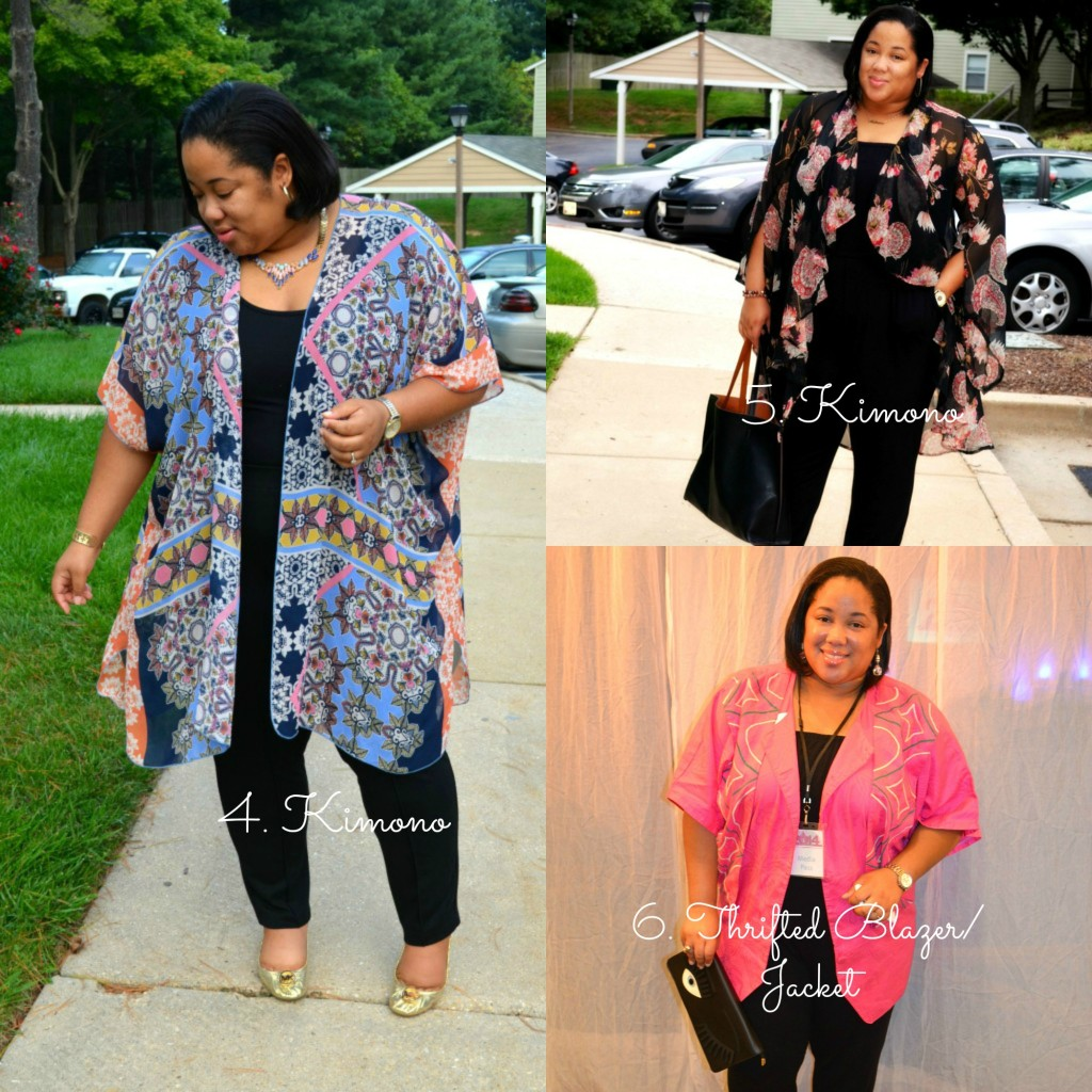 transitional wardrobe - plus size style