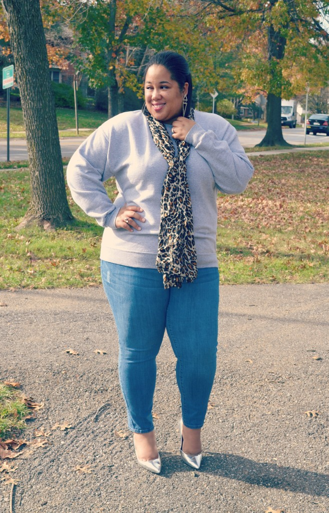 Fall Trends - Wearing Sweatshirts