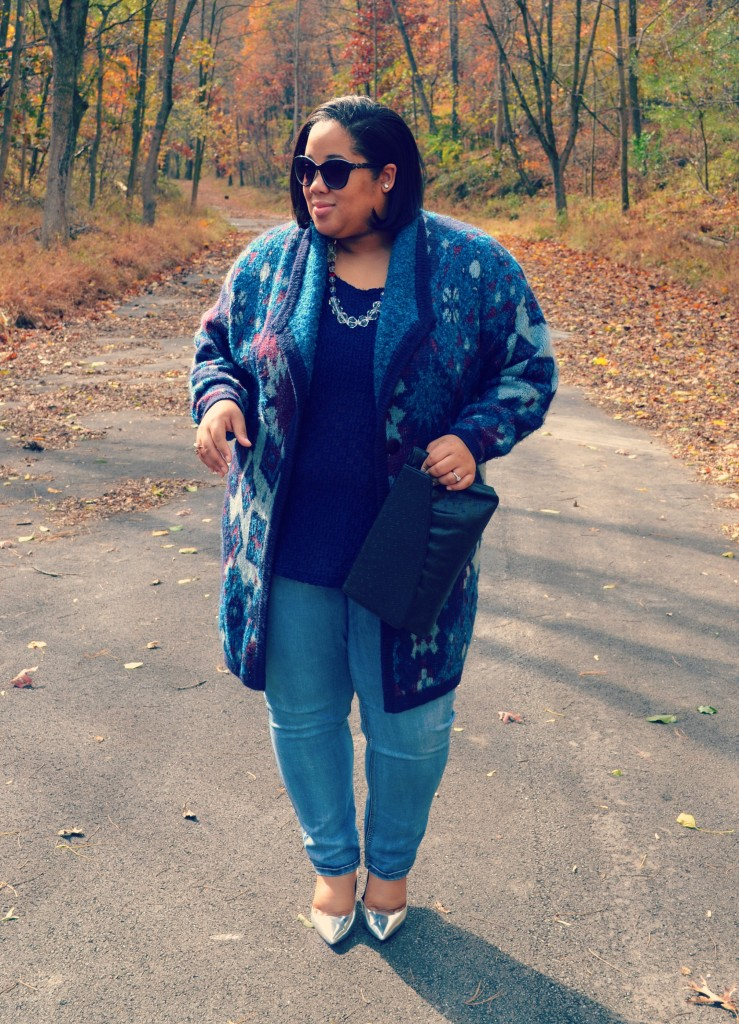 Plus Size OOTD - Sweater Coat