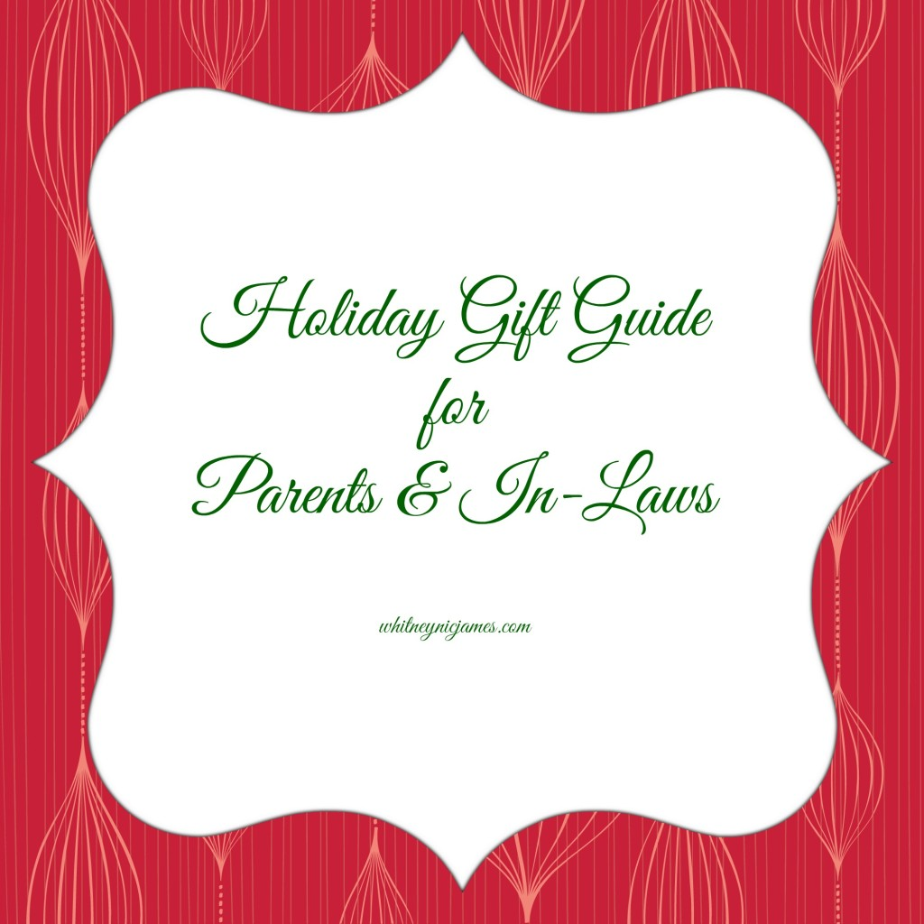 Gift Ideas for Parents and Inlaws