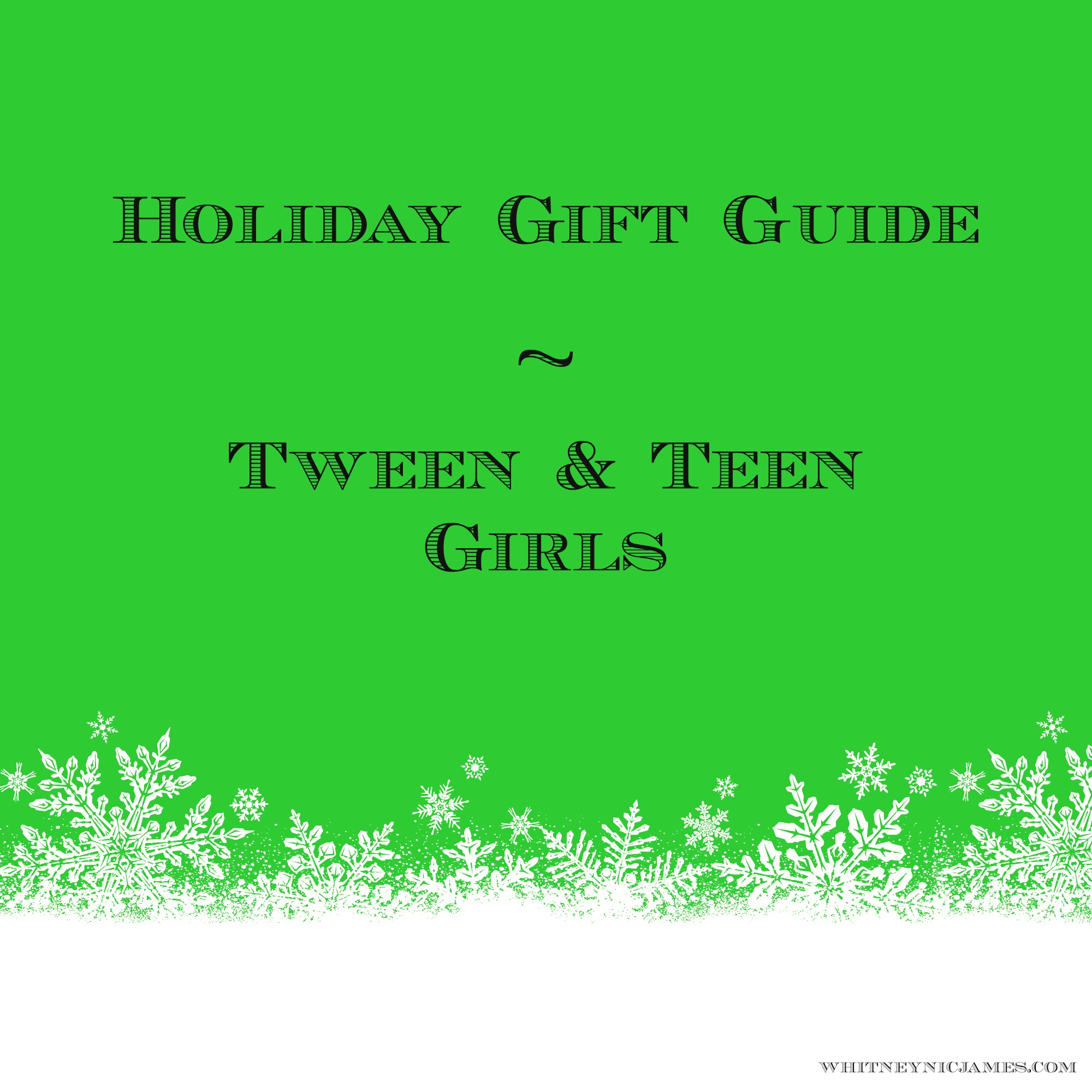 Teenage Girl Gift Ideas Gift Ideas For Teen Girls