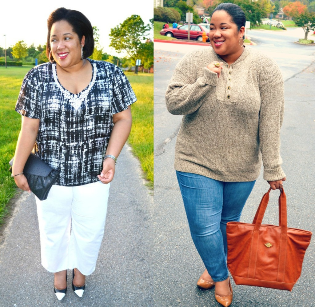 plus size blogger - whitney nic james