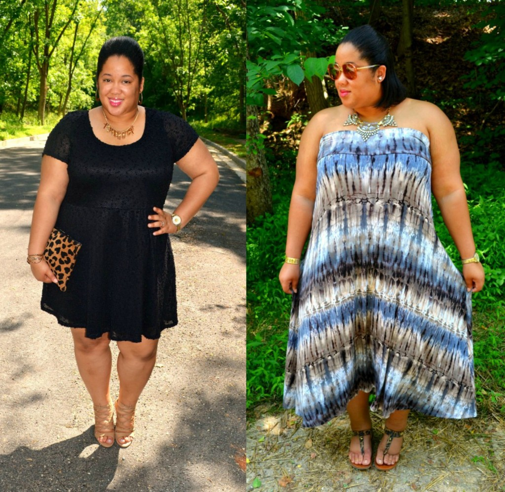 whitney nic james - plus size blogger outfits