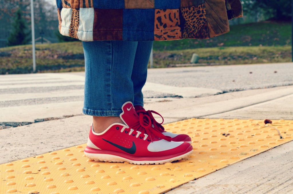 Red Nikes - Nike Fitsole