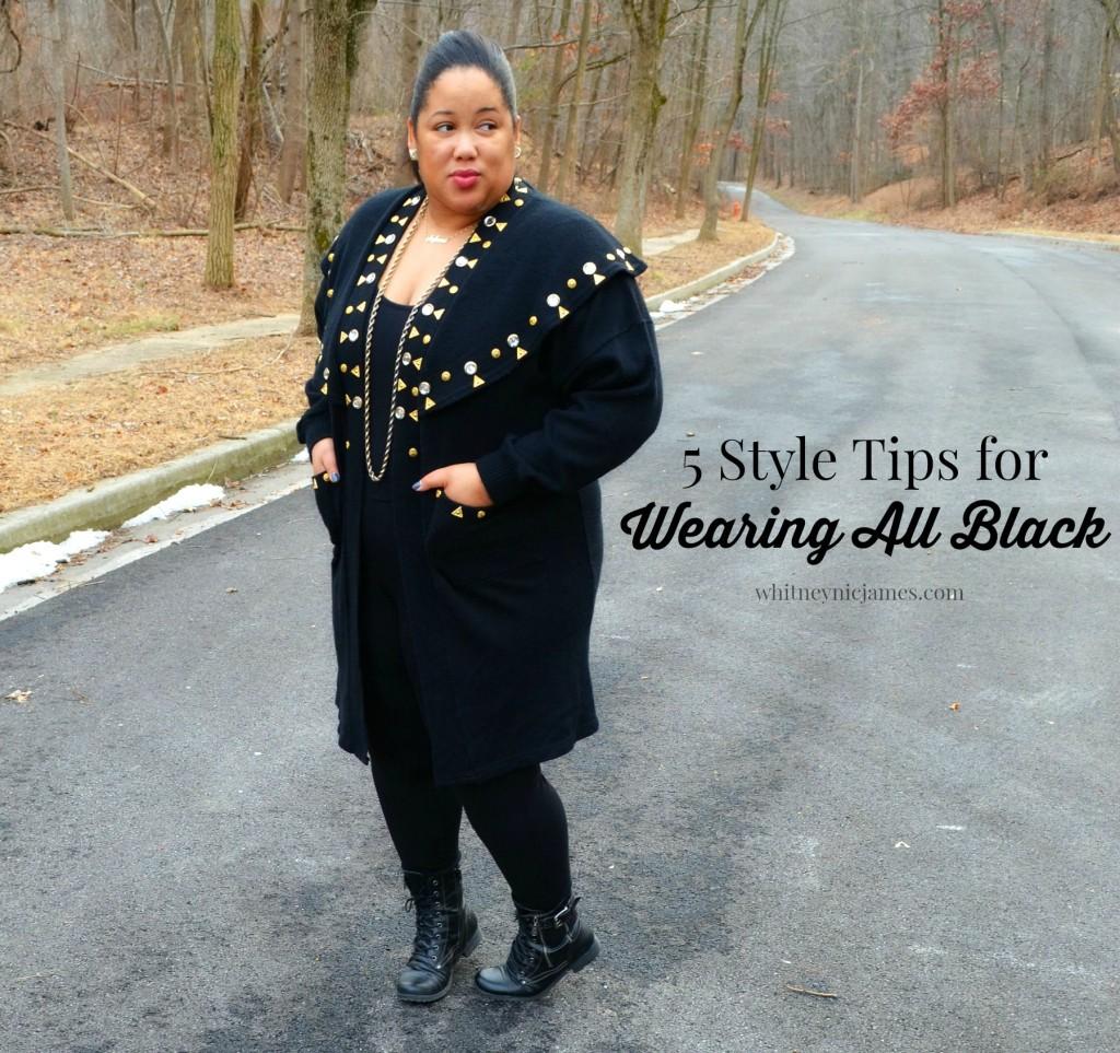 Wearing All Black
