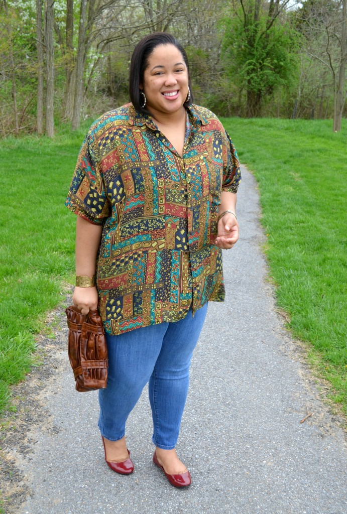 Casual Thrifted Outfit - Plus Size