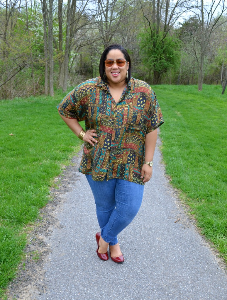 Plus Size Casual Spring Outfit