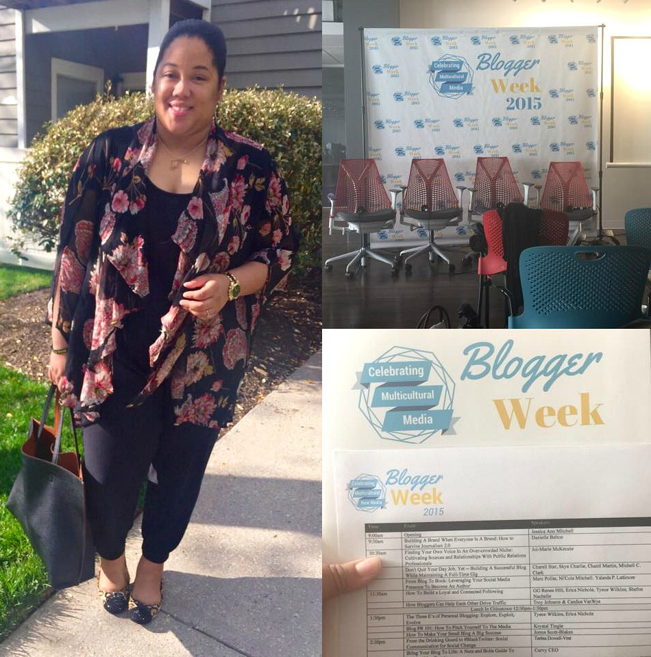 Blogger Week Recap