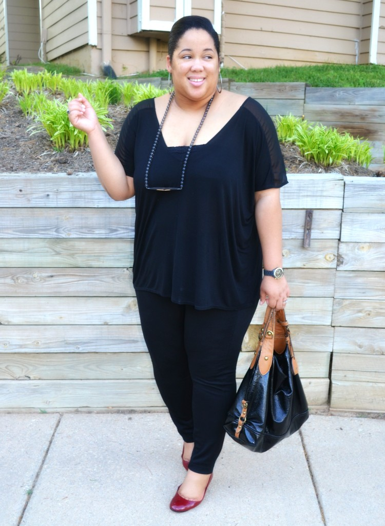Spring Fashion All Black Outfit
