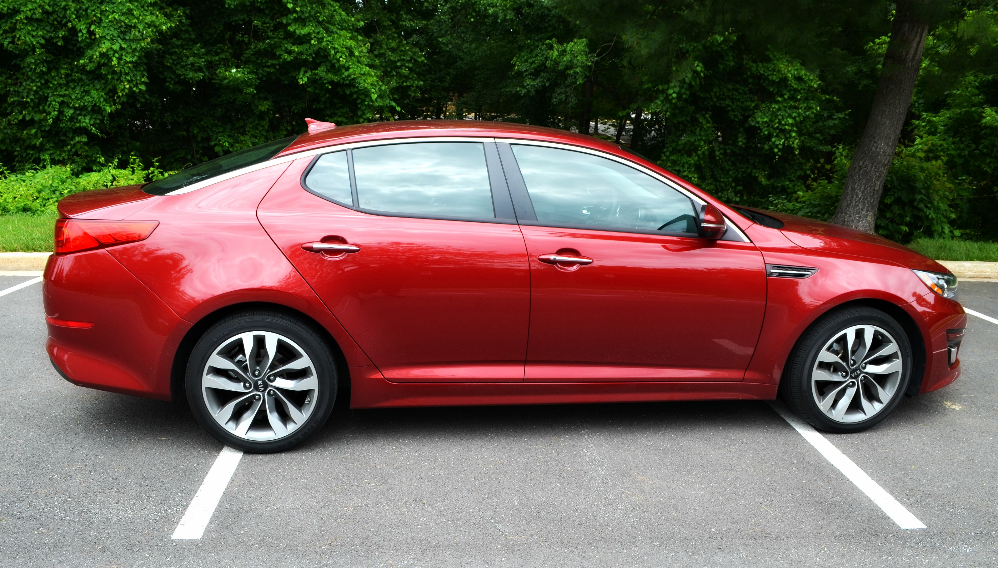 2015 Kia Optima SX - Road Trip Essentials