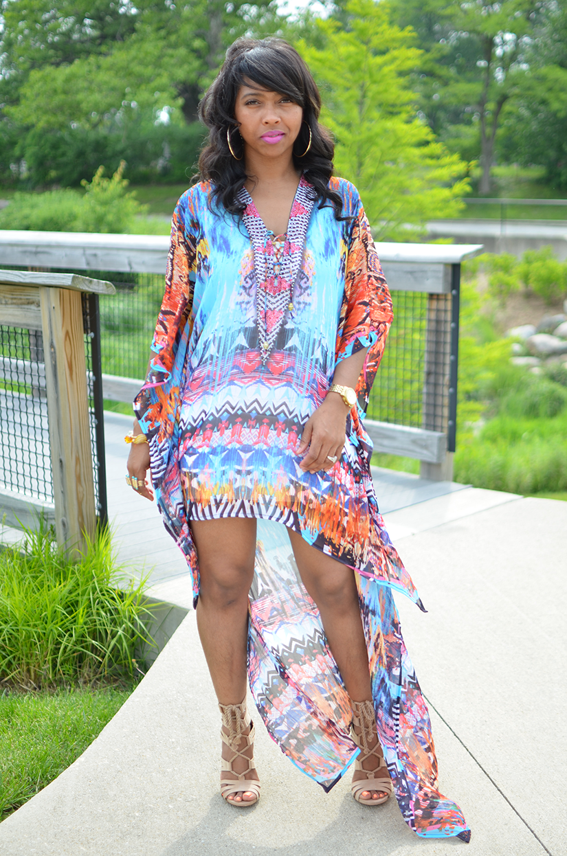 Printed Dress - Sweenee Style