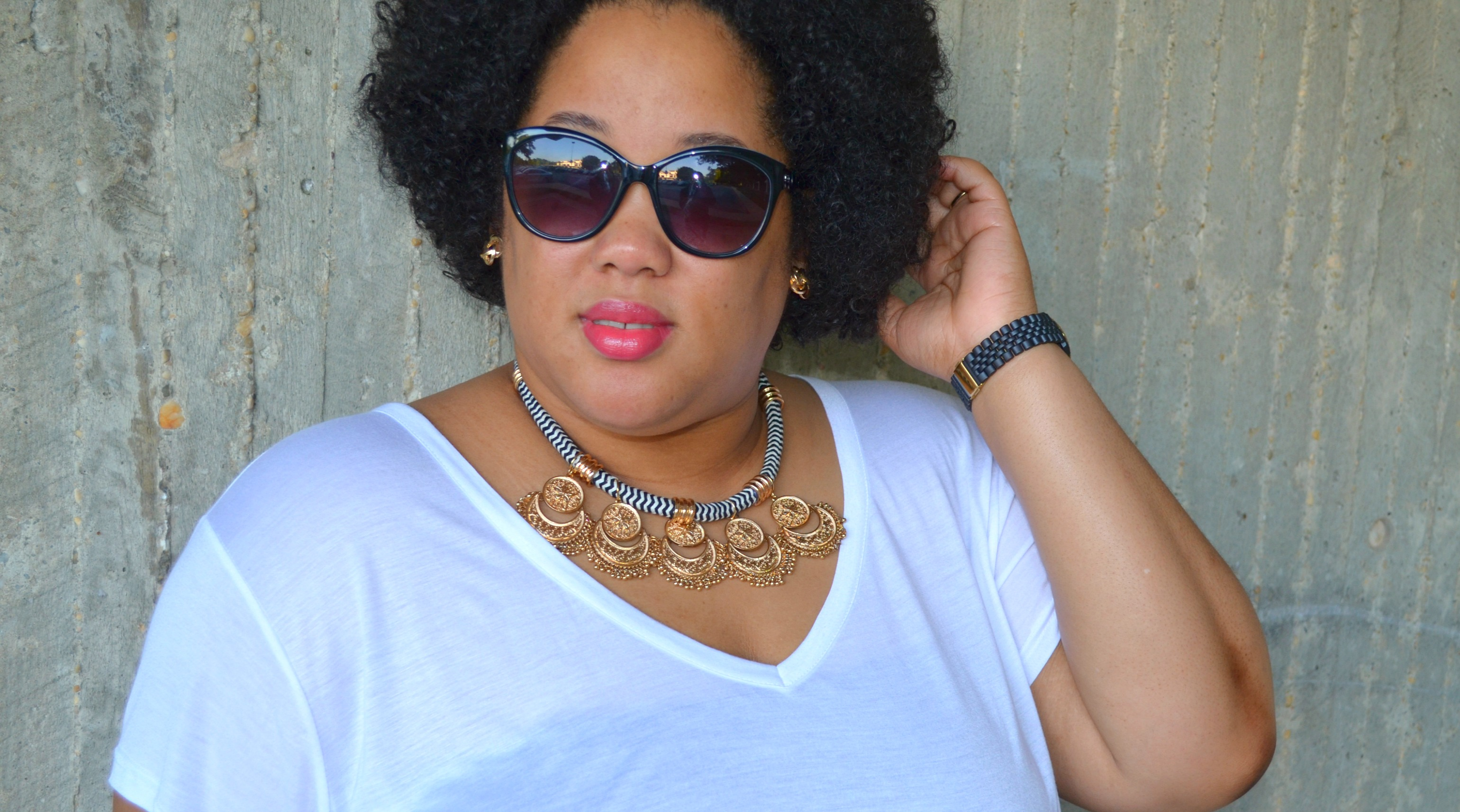 Statement Necklace and Sunnies