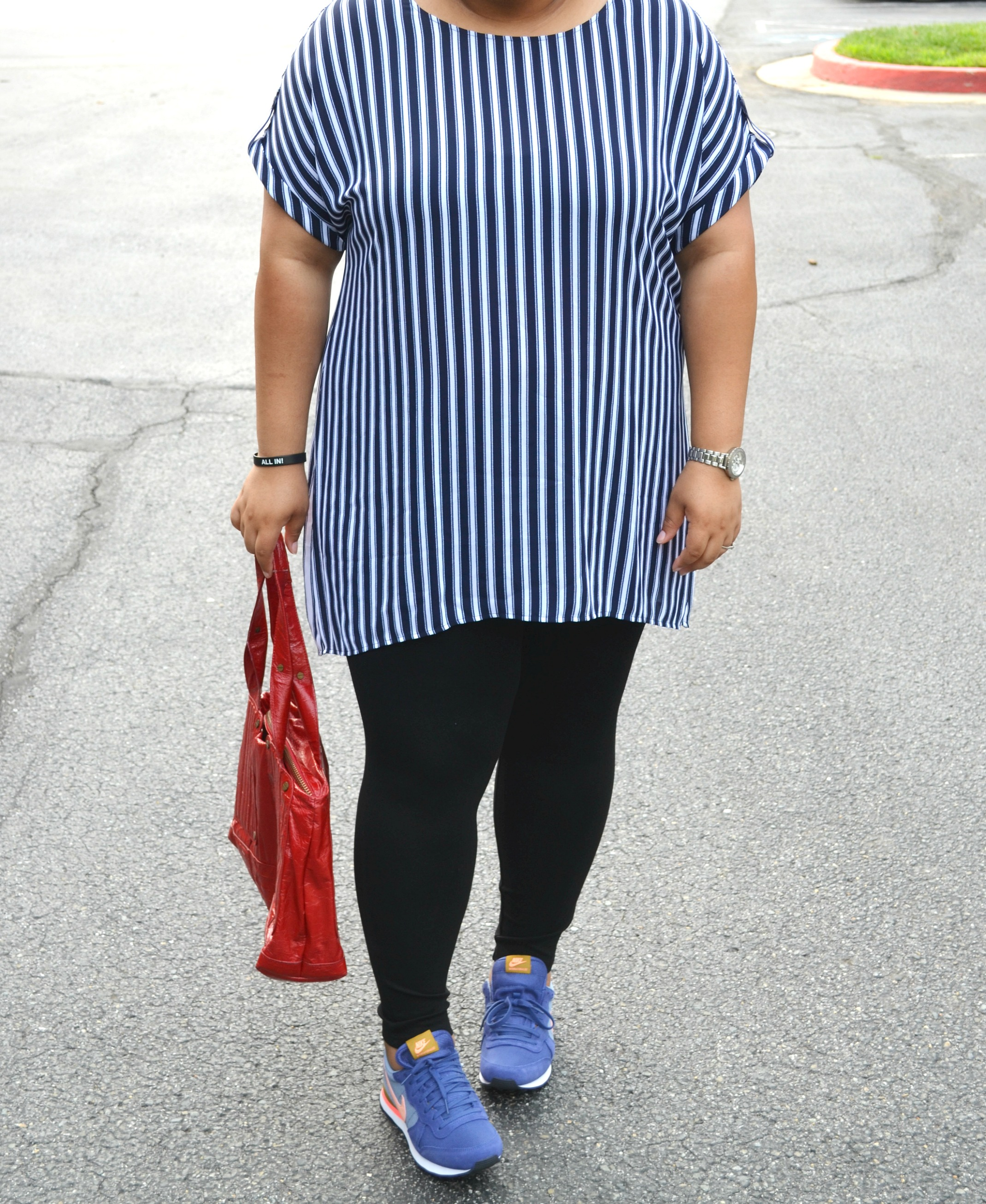 Wearing Stripes - Casual OOTD