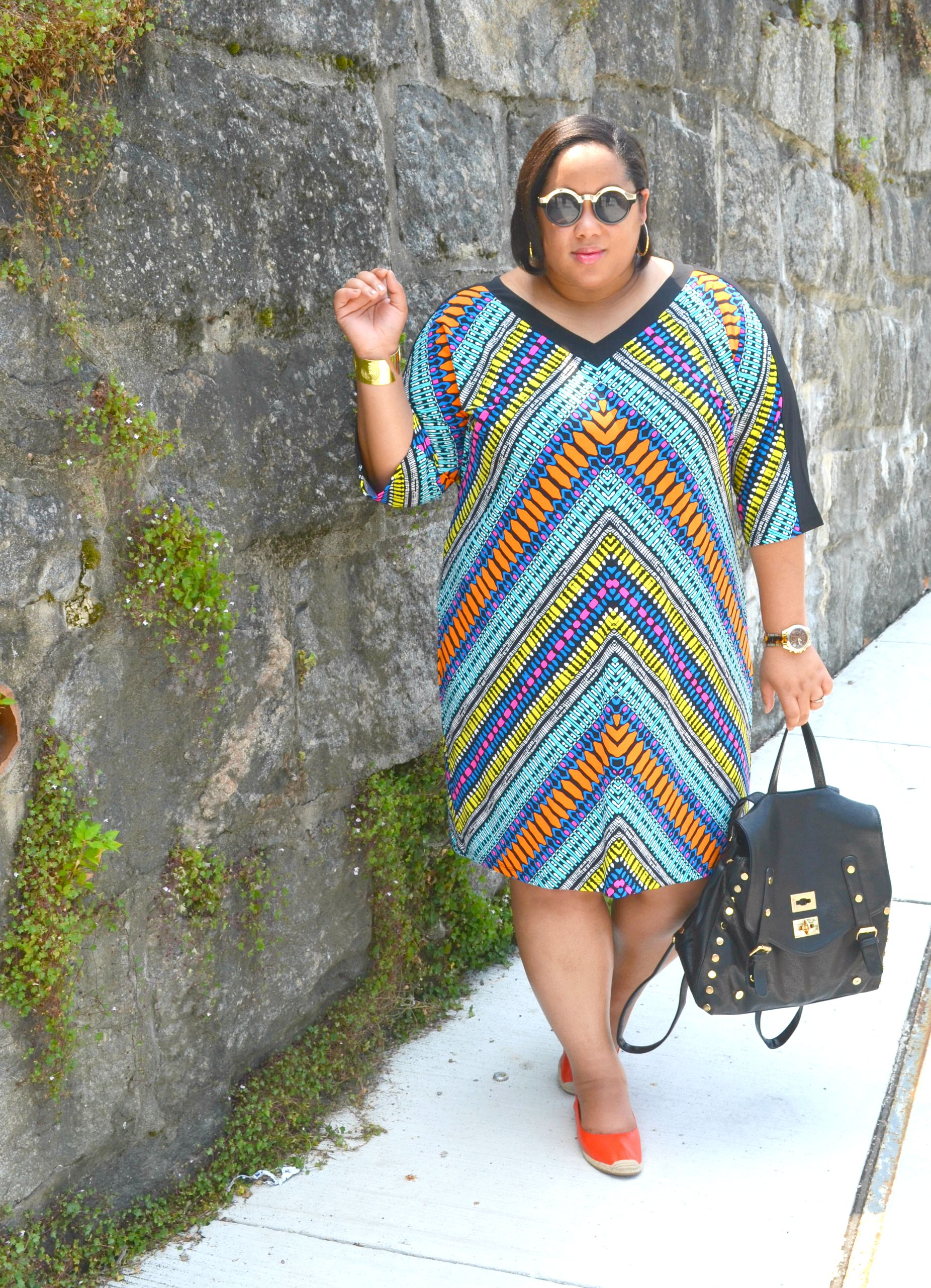Maggy London Plus Size Shift Dress