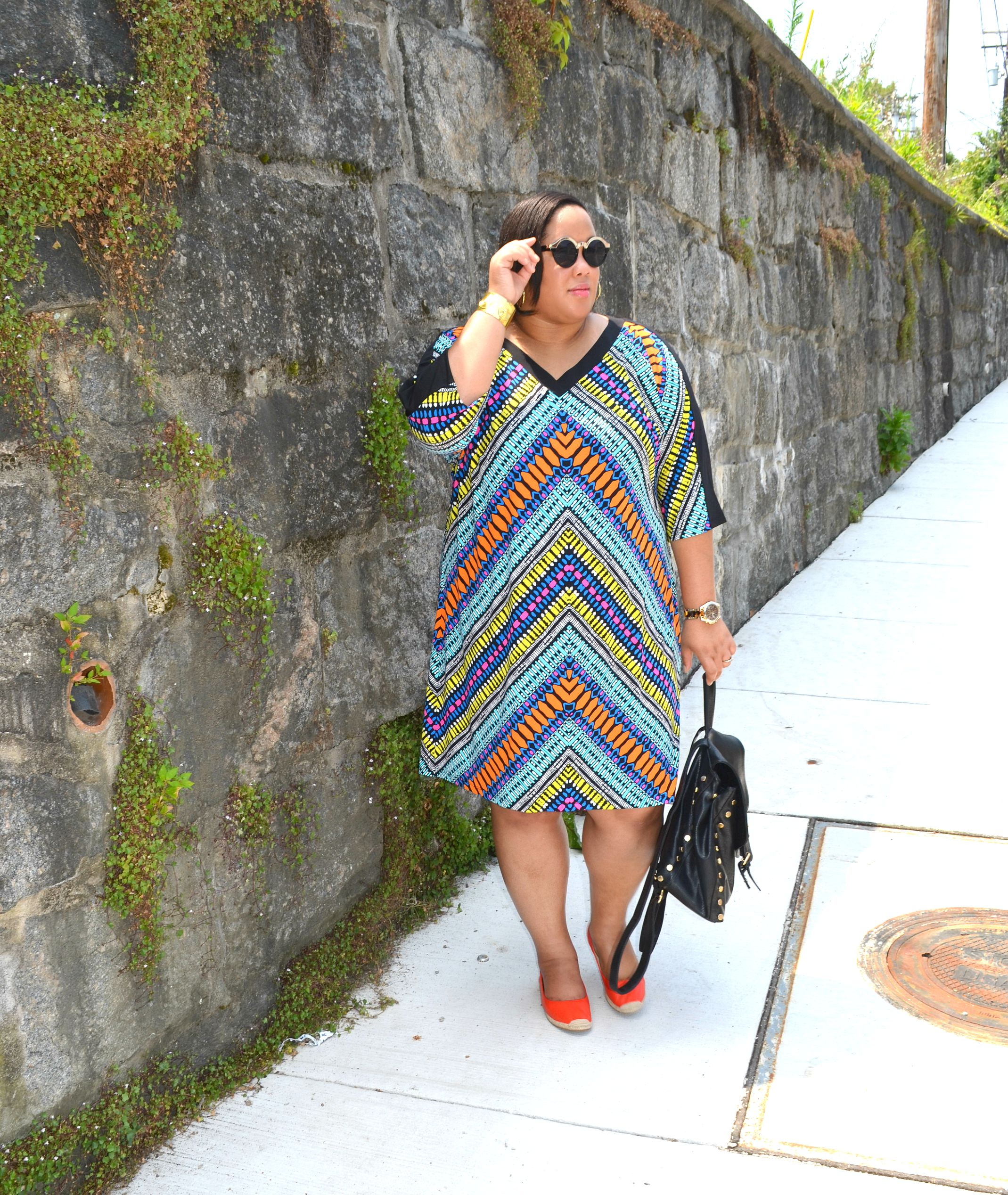 Plus Size Shift Dress