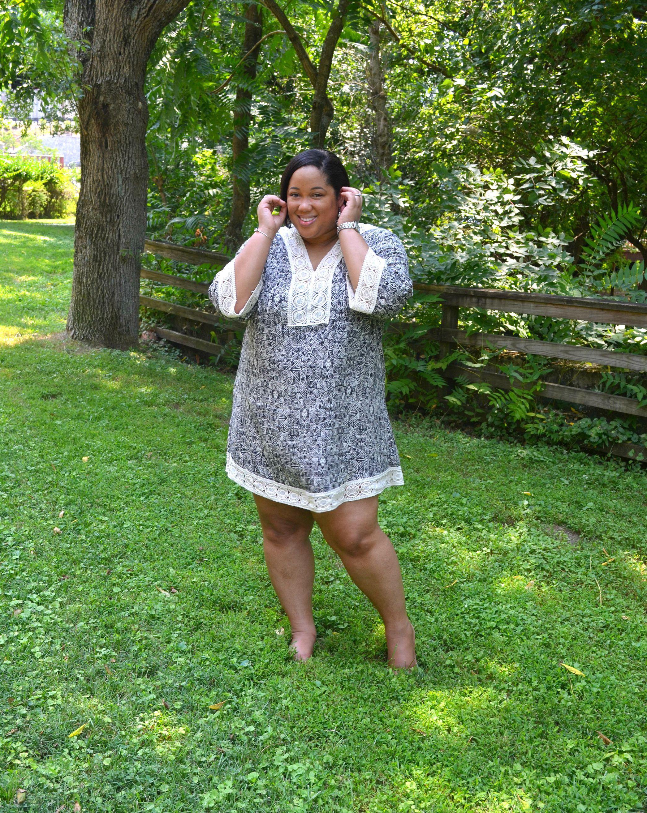 Tunic Dress - OOTD