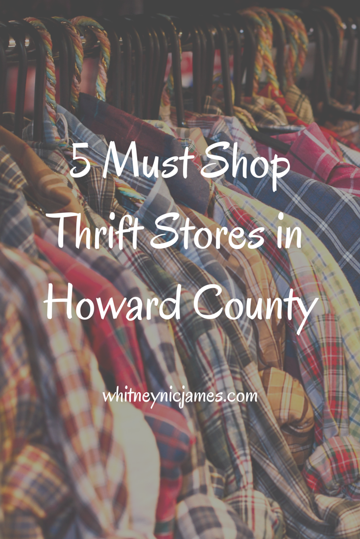 Top Thrift Stores in Howard County | national thrift store day 2015