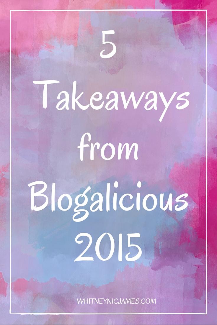 Blogalicious 2015