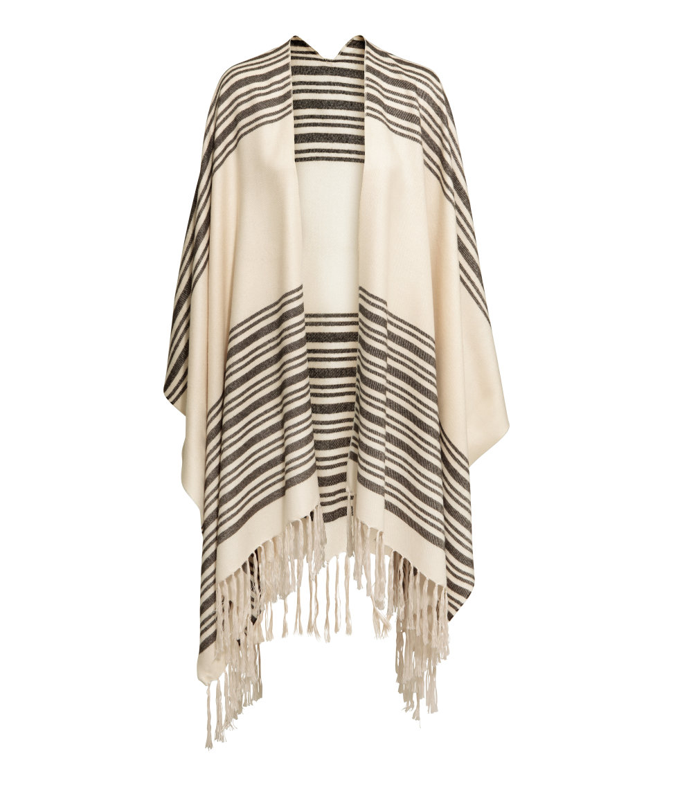 Fall Style - H&M Poncho