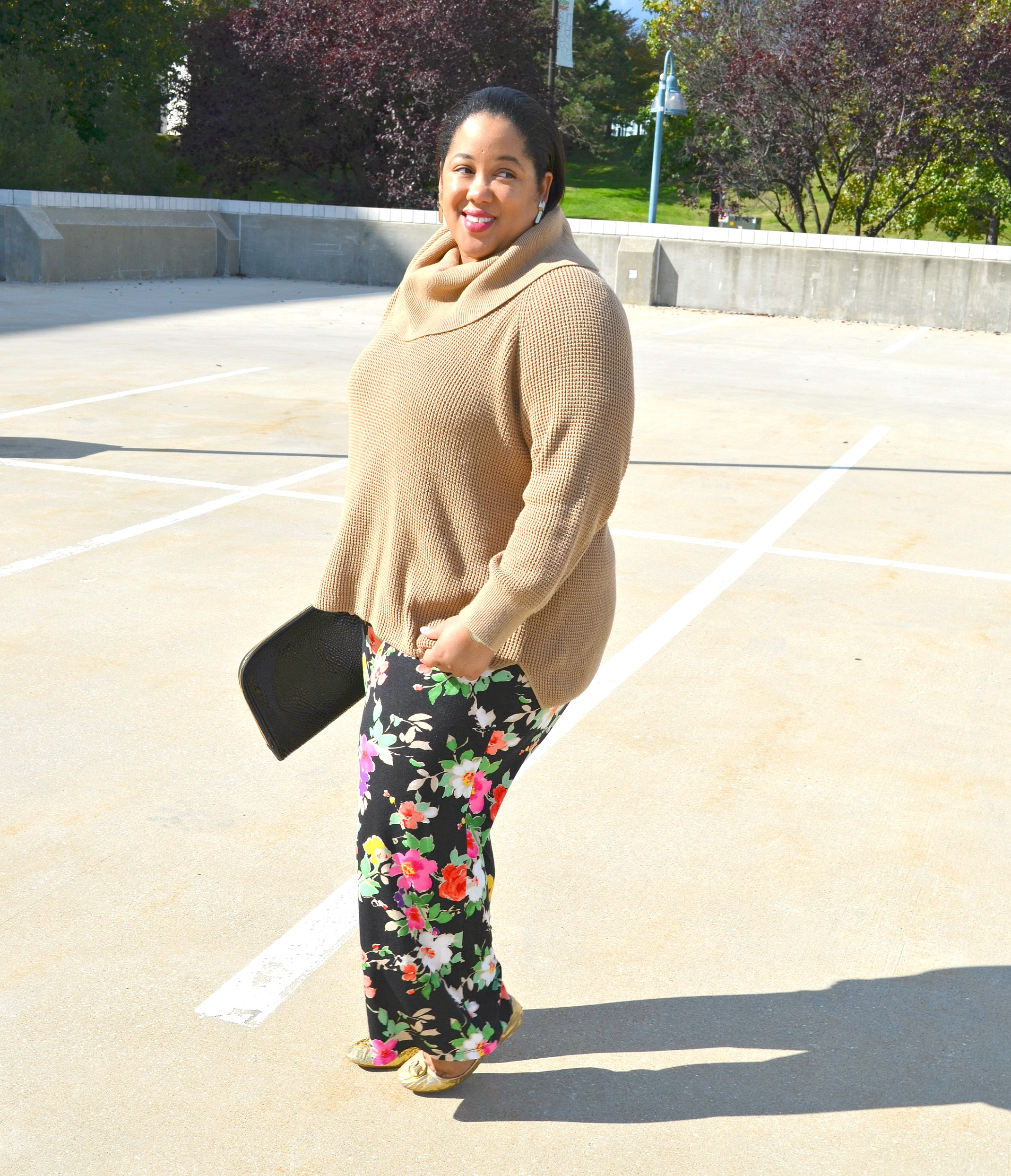 Fall Outfit - Fall Florals