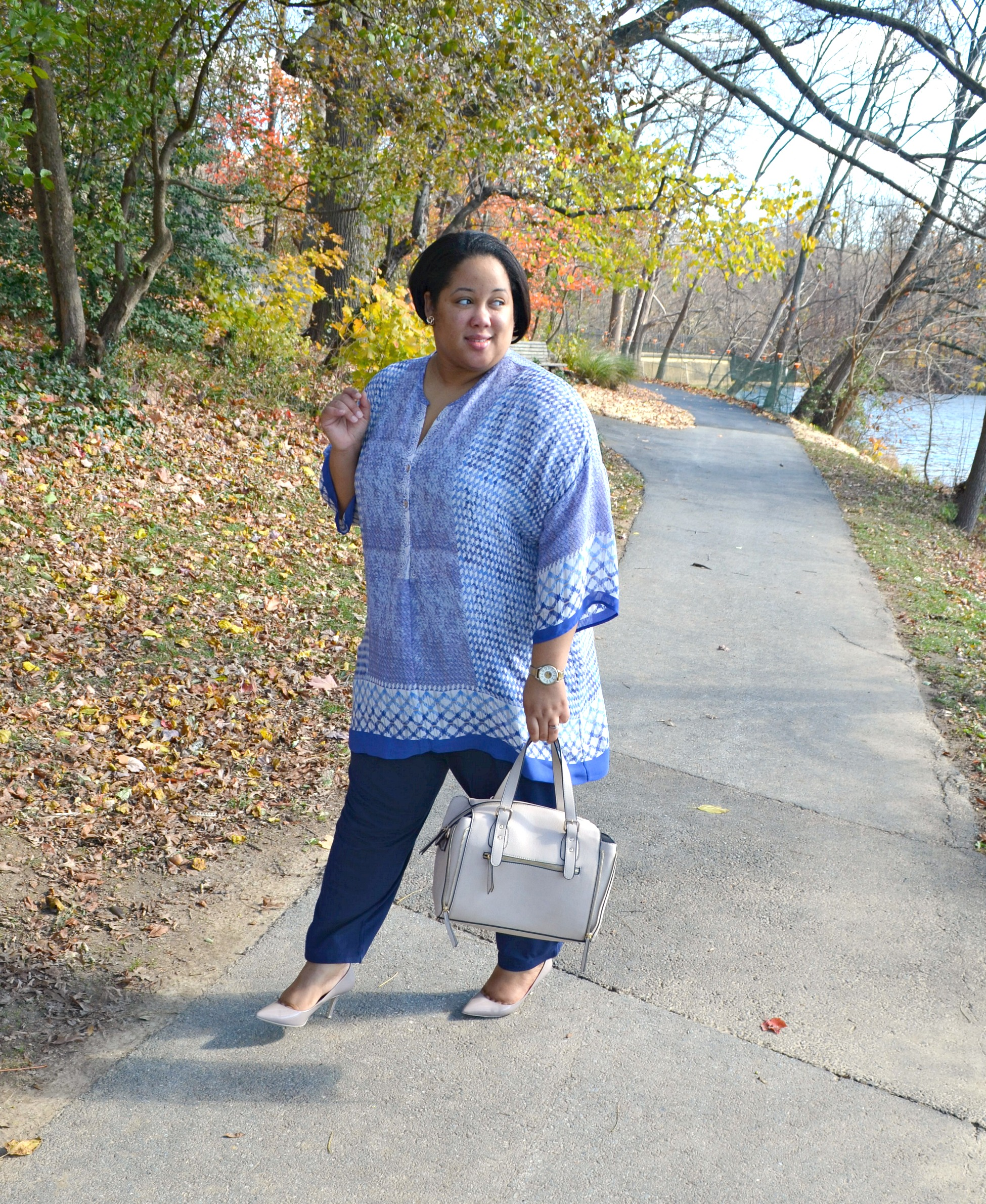Fall Fashion - tunics and capes