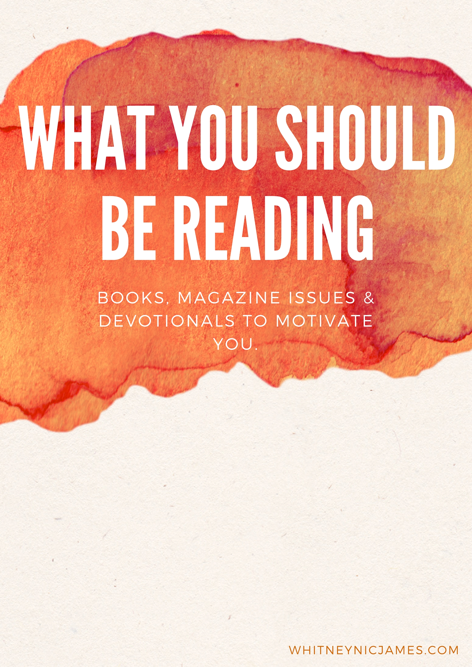 What You Should Be Reading