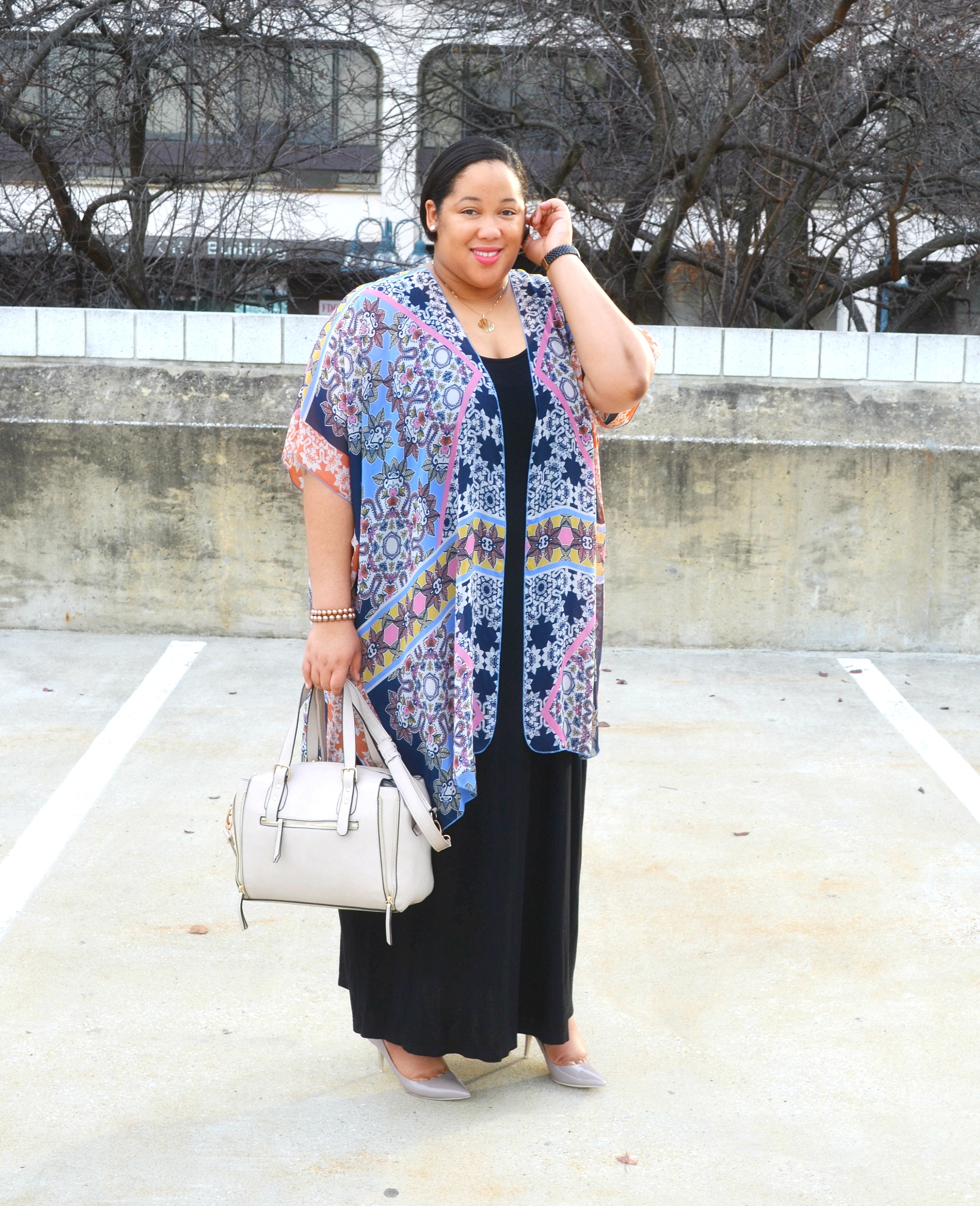 Maxi Dress and Kimonos