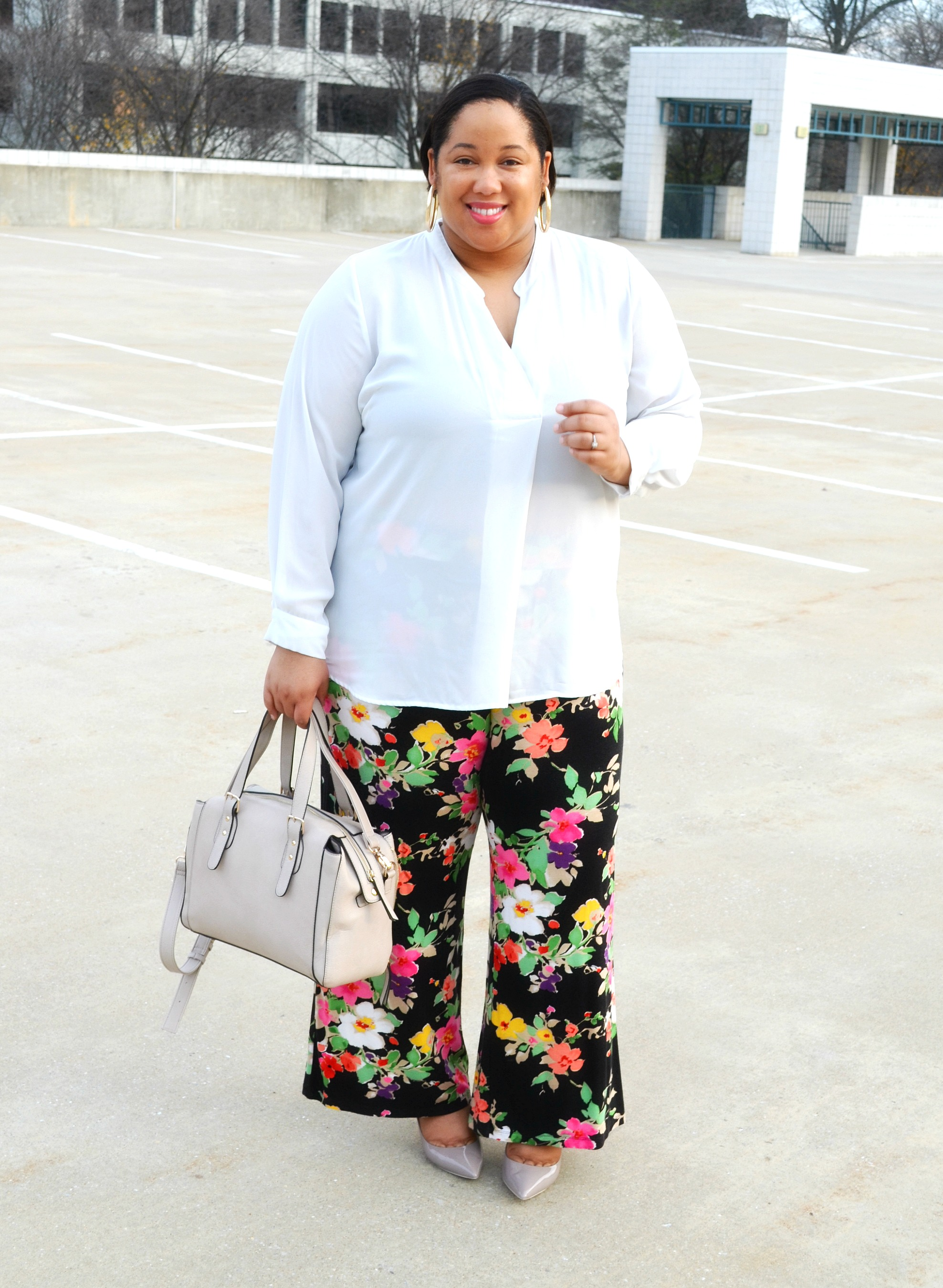 OOTD Styling Floral Pants