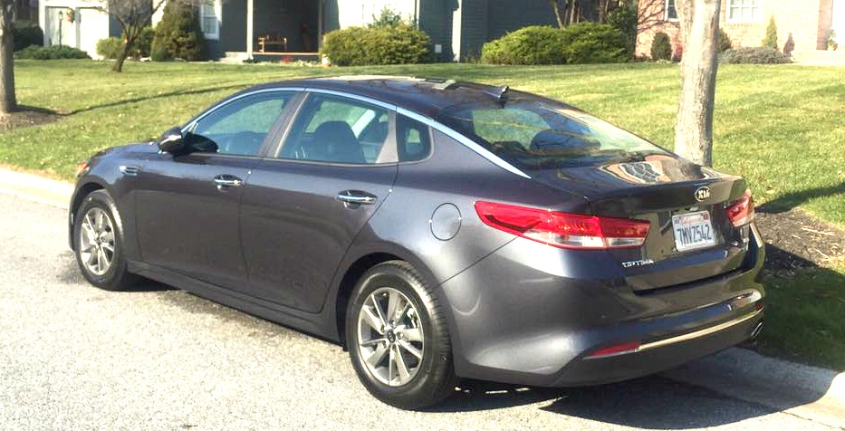 2016 Kia Optima - Grey