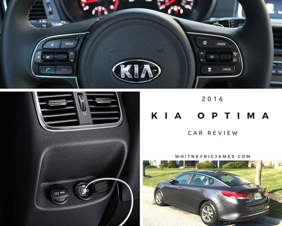 2016 Kia Optima Car Review