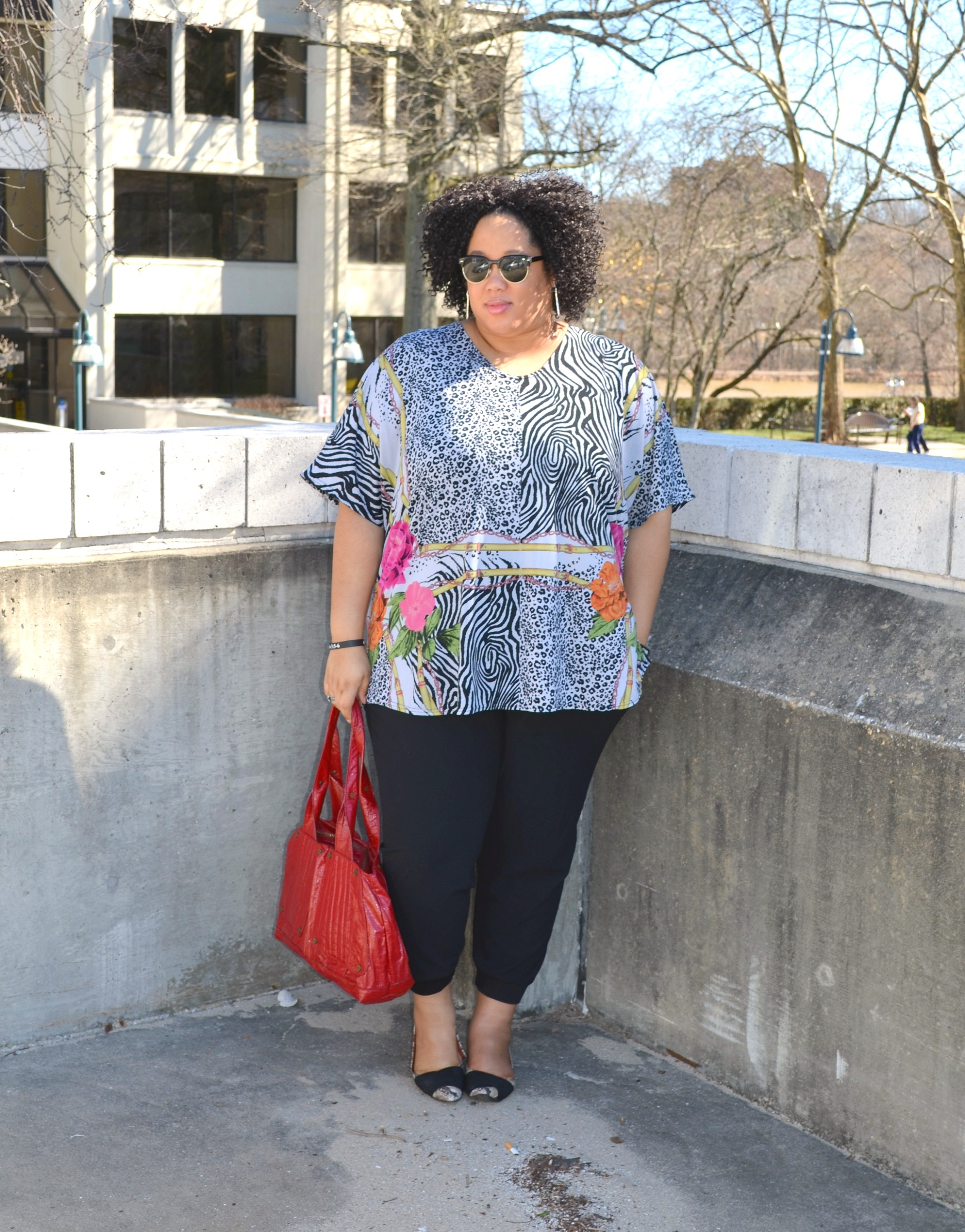 Casual Weekend Outfit - Plus Size
