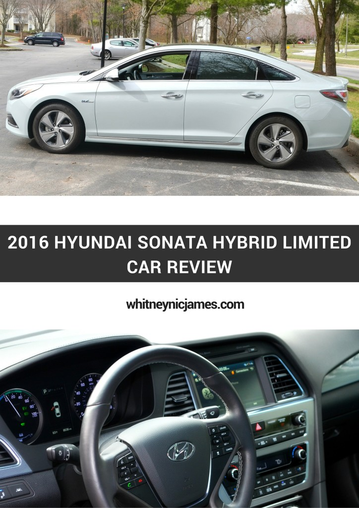 car review 2016 hyundai sonata hybrid limited. Black Bedroom Furniture Sets. Home Design Ideas