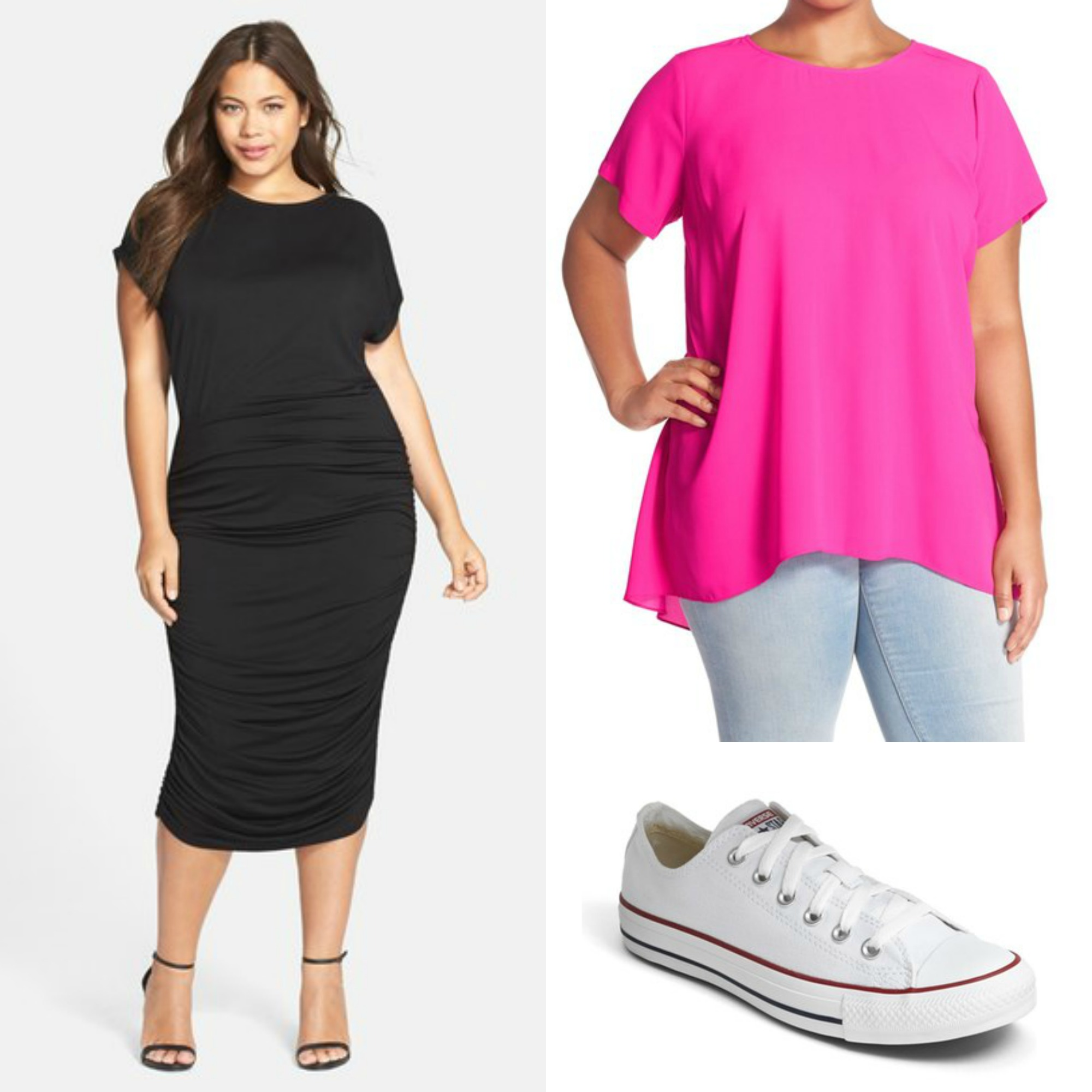 Minimal Wardrobe Options - Plus Size