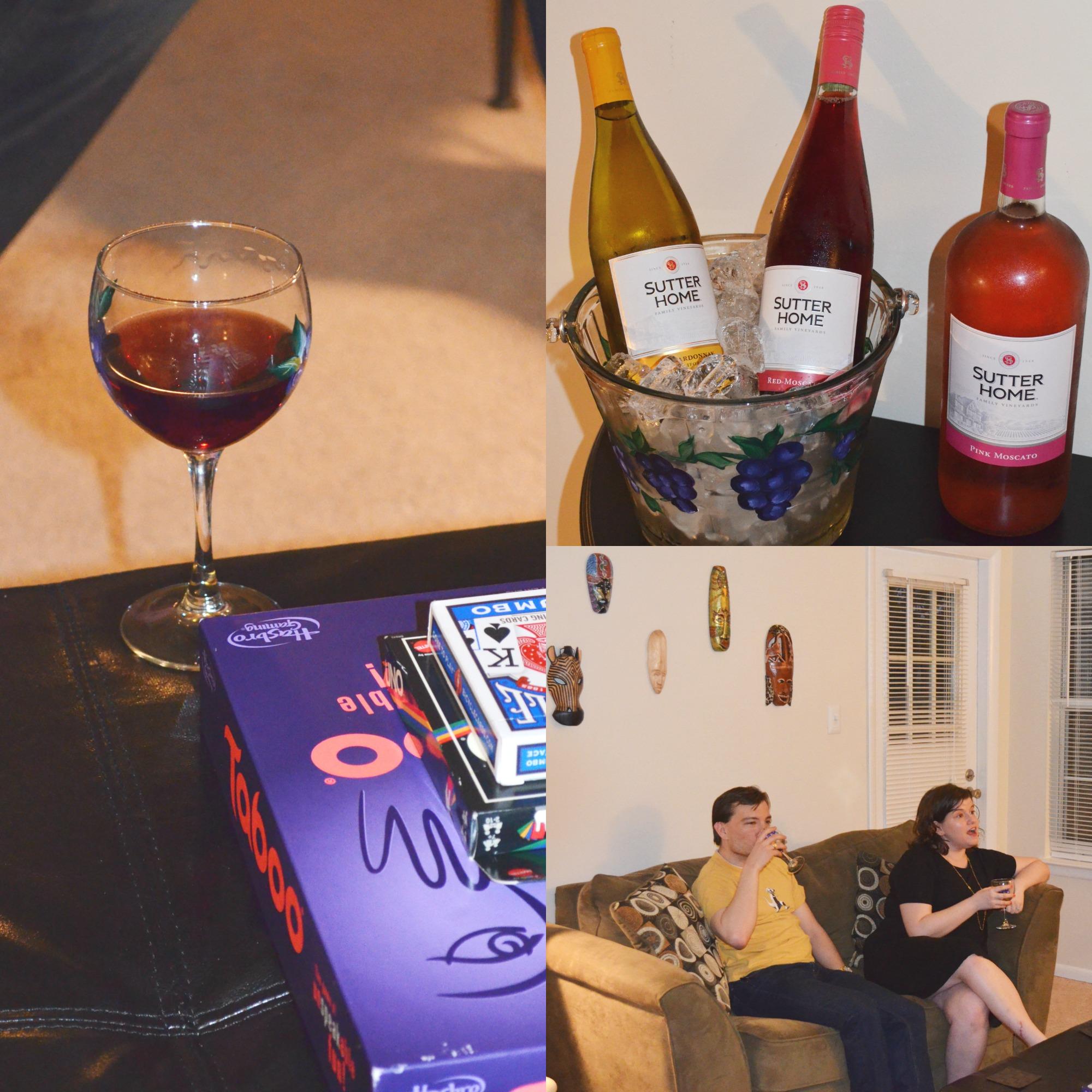 Sutter Home Wine