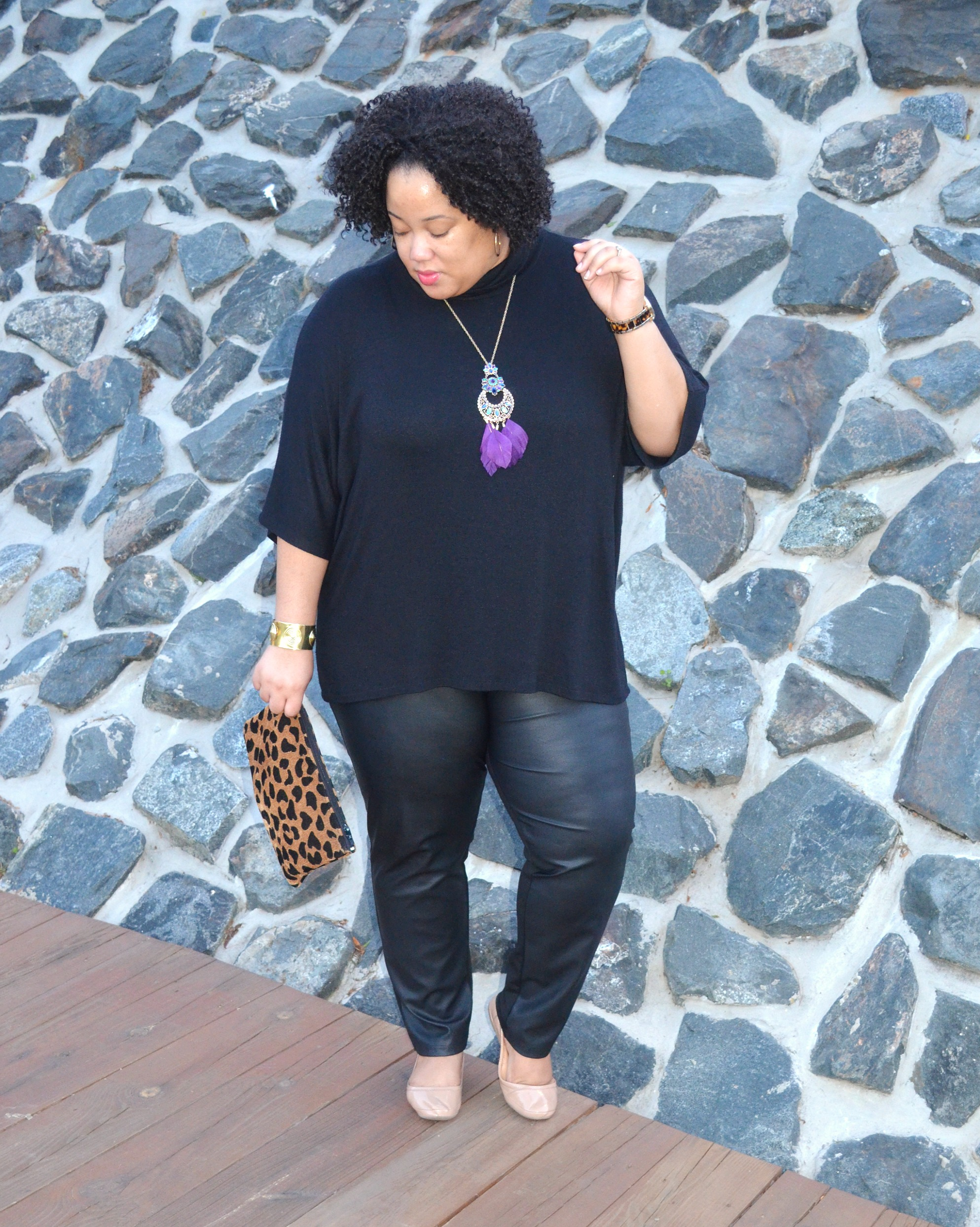 All Black Outfit - Plus Size Style