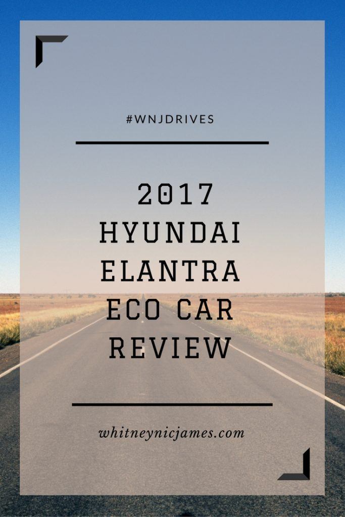 #WNJDrives | 2017 Hyundai Elantra Eco Car Review
