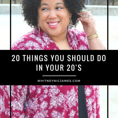 20 Things You Should Do in Your 20's