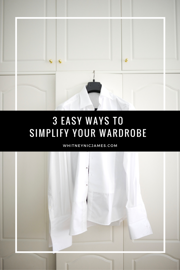 Ways to Simplify Your Wardrobe