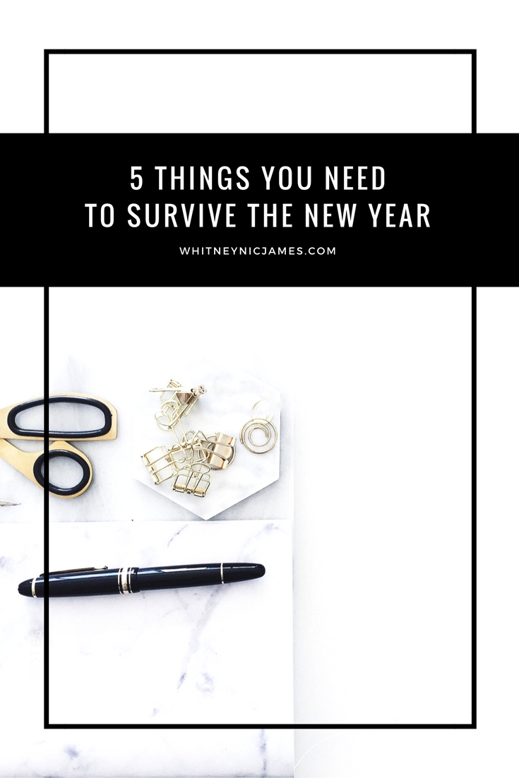 5 Things You Need to Survive the New Year