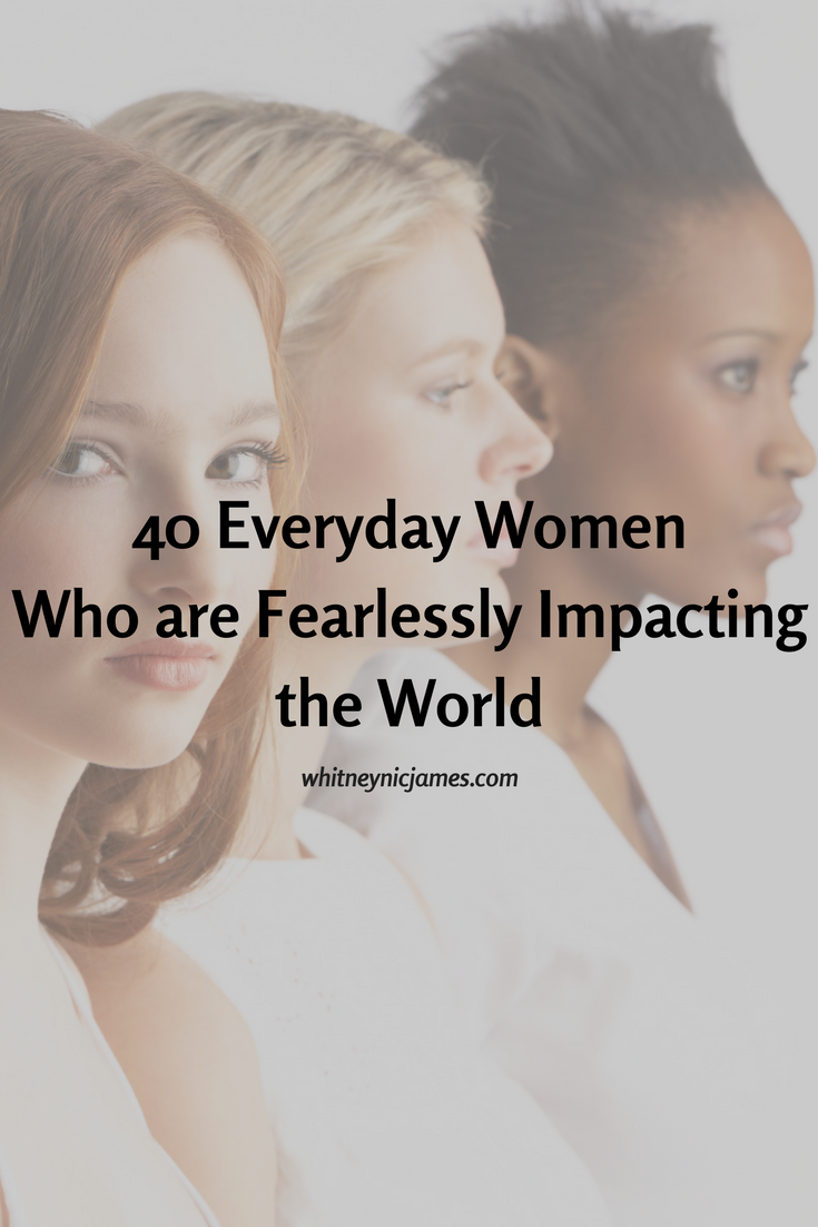 Women Who are Impacting the World