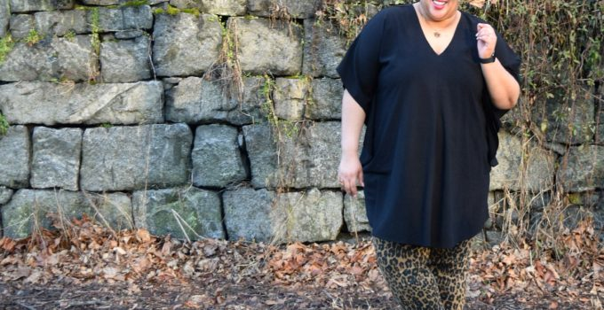 Personal Style | Leopard Print + Faux Leather