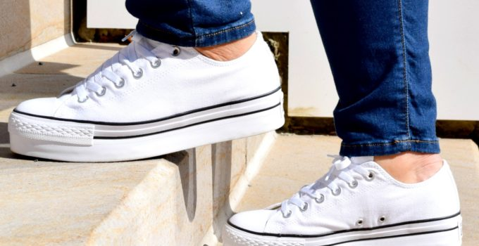Personal Style | Casually Styling Platform Converse Sneakers