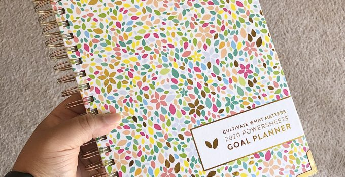 How to Use the Powersheets Goal Planner to Plan Your Month
